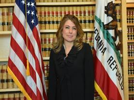 District Attorney Krishna Abrams