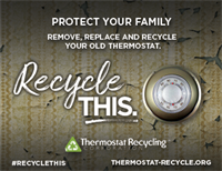 Thermostats Recycling Link